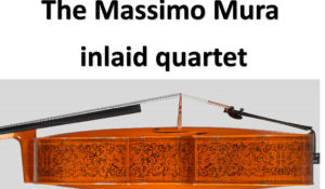 The Massimo Mura inlaid quartet